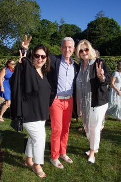 Ninette Ricca, Nick Gold, Donna Barbieri