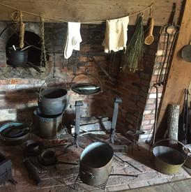 The Thomas Halsey Homestead: Kitchen