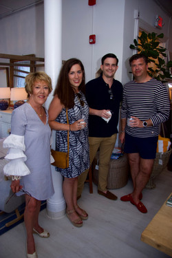 Peggy and Katherine Bousson, Andrew Fowler, Rich Wilkie
