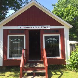 Fordham and Elliston Paint Shop