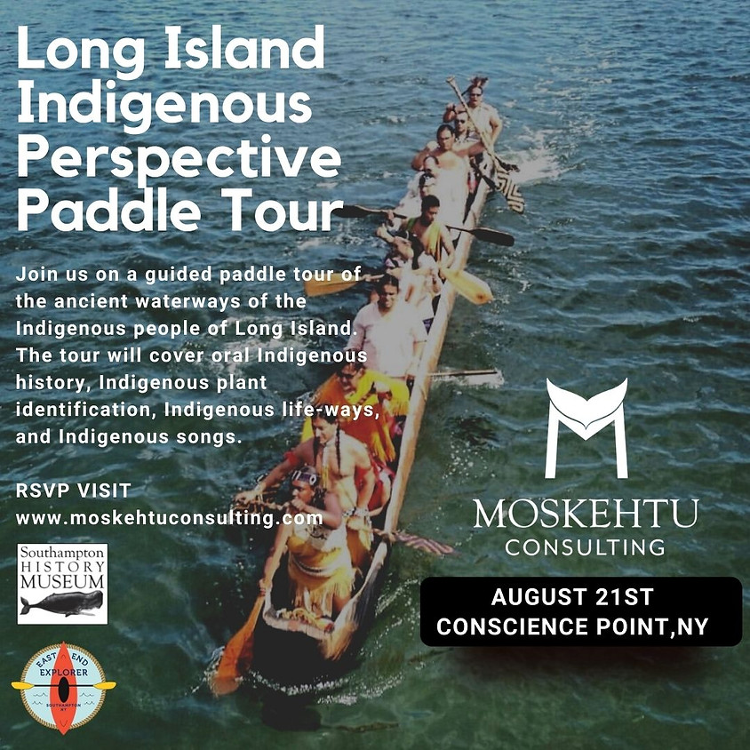 Long Island Indigenous Perspectives Canoe Tour - August