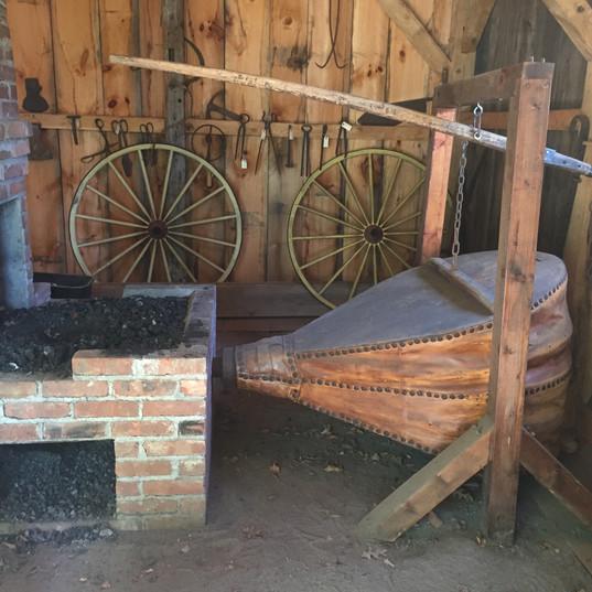 Blacksmiths Shop: The Bellows