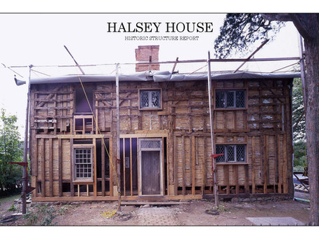 Halsey House - Historic Structure Report, 2014
