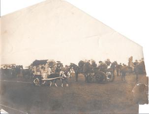 Procession of participants