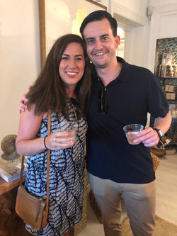Katherine Bousson and Andrew Fowler