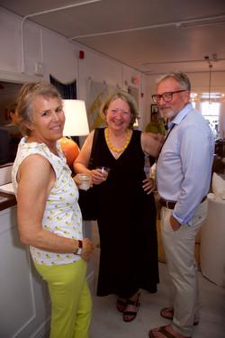 Hilary Woodward, Maribeth and Tom Edmonds