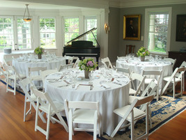 Music Room with sit down meal