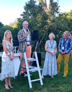 Laura and James Freeman, Linda Stabler-Talty and Tom Edmonds