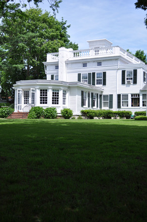 Rogers Mansion from under the mulberry tree