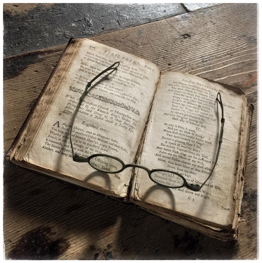 Colonial Eyeglasses - Double Fold Spectacles from the 1700s