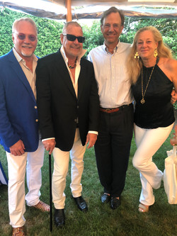 Dennis Anderson, Bill Sofield, Rome and Lisa Arnold