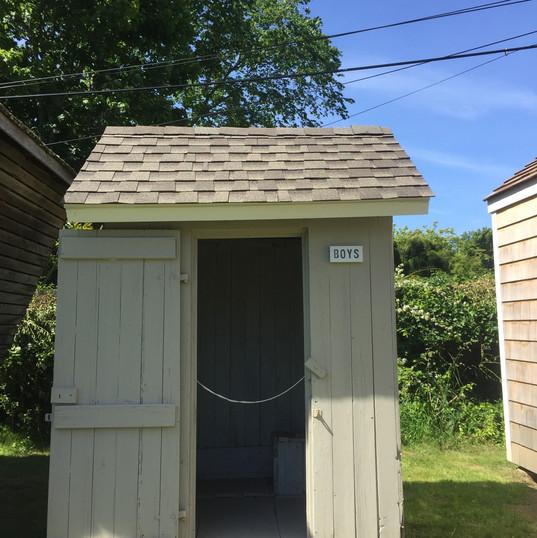 Boys Outhouse