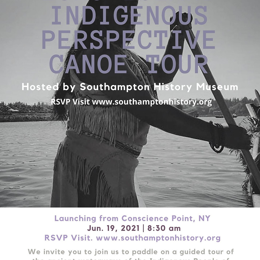 Long Island Indigenous Perspectives Canoe Tour - July
