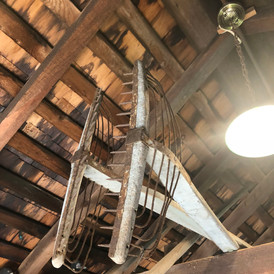 Bayman's Decoy Shed: Interior