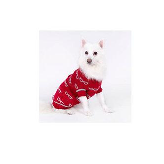 sweaters rojo con gorro