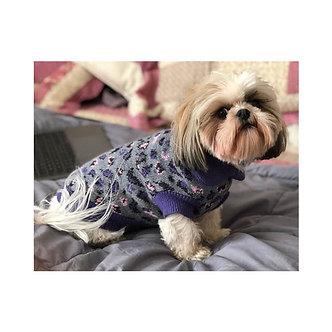 sweaters animal print cuello redondo