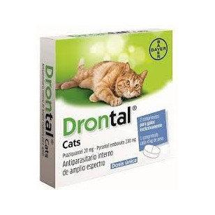 Drontal Cats Caja 2 tabletas