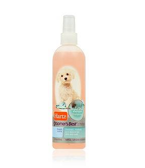 Groomer's Best waterless dog shampoo
