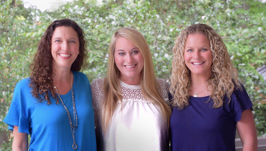 Dr. Christine Hall, Dr. Sara Hoffenberg, and Dr. Tiffany Aronson