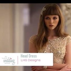 Stunning #rhinestone #leaf Ceres #bridal #headband #headpeice #video #fashion #vintage #couture #acc