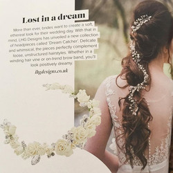 Looking for bridal hair accessories that stand out from the rest_ Do you want to be unique_ We can m