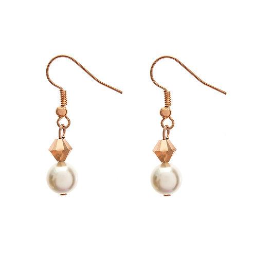 Purity II Bridal Earrings Swarovski pearls