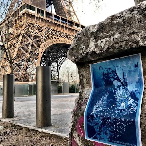 Champ De Mars - Tour Eiffel @paddywagonparis, Paris, France