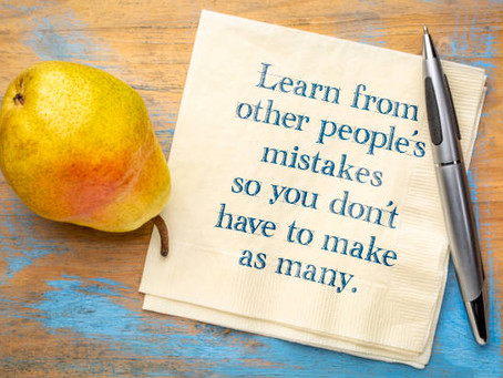 How To Learn From Other People's Mistakes