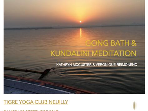 Gong Bath & Kundalini Meditation w/ Kathryn McCuster