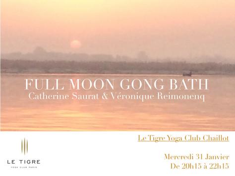 Full Moon Gong Bath w/ Catherine Saurat