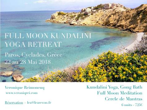 Full Moon Kundalini Yoga Retreat - Paros, Cyclades, Greece