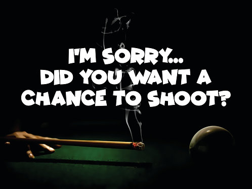 """Im sorry, did you want to shoot  11""""x 8.5"""" Center chest or Back"""
