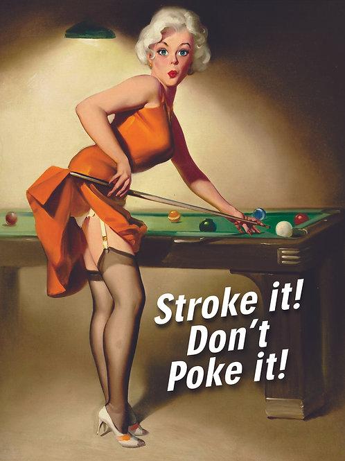 Don't Poke It