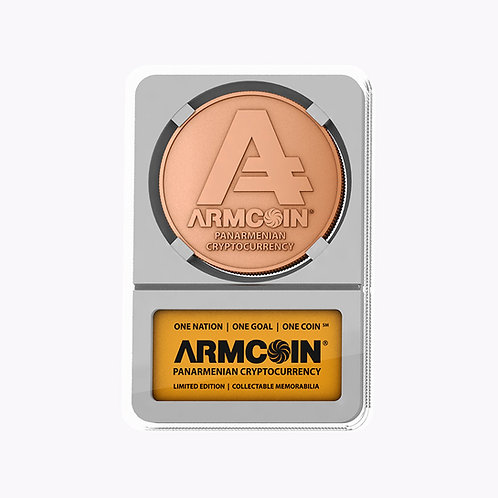 Armcoin | Gold Finish | White Tray