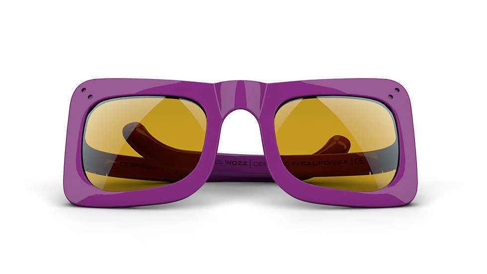 WOZZ® | Purple / Ivory / Yellow
