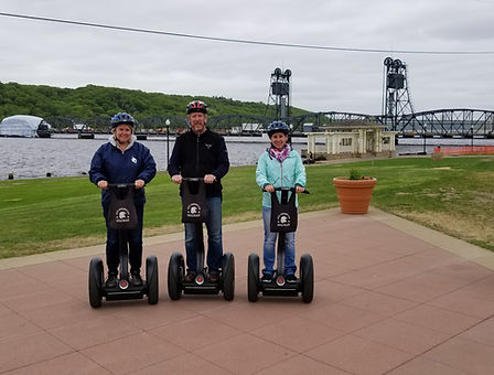 segway tour trail nature history