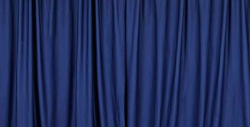 Blue Plain Backdrop  from 3m by 3m