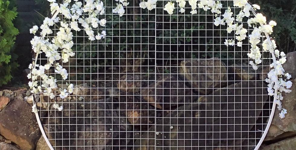 Blossom Mesh Wall - 2m