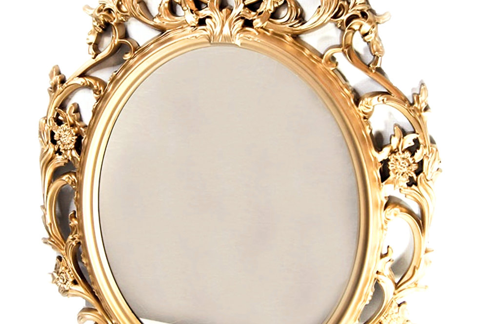 Gold Mirror / Photo Frame