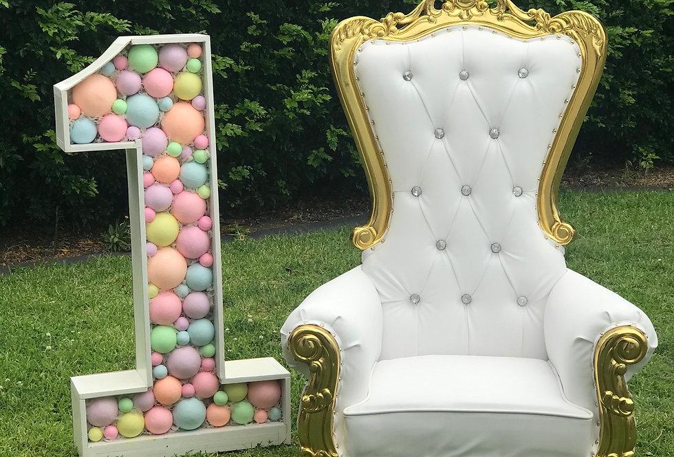 Mini, Kids Royal Throne Chair