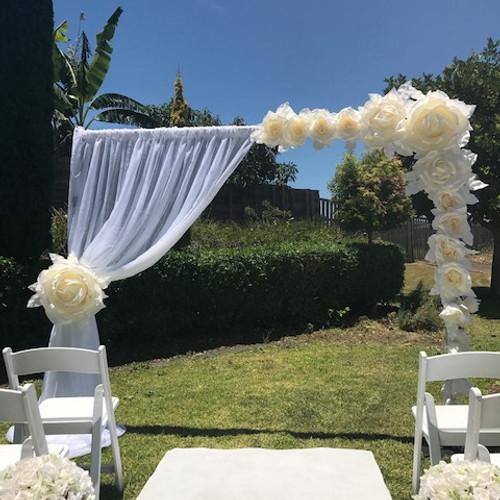 Wedding arches queensland wow weddings wedding and event hire junglespirit Gallery