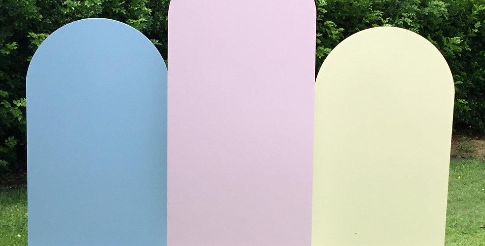 Pastel Arch Trio Wall