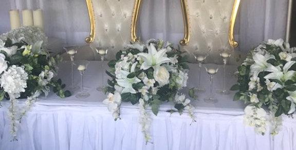 Bridal Table Skirting