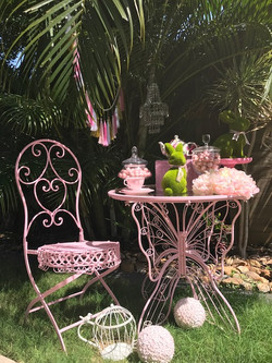 butterfly table & chair