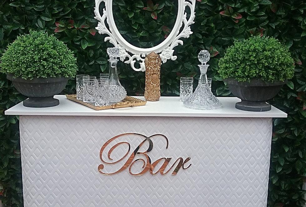 White Drink Bar - Custom made