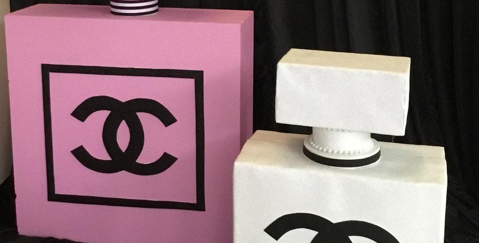 Chanel Inspired Giant Parfume Bottles