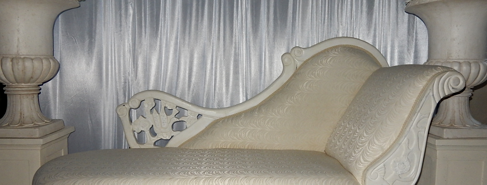 Wedding Chaise Lounge