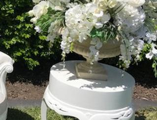 White Gloss Side Table