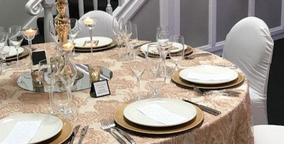 Princess Lace Table Cloth 330 cm  Round