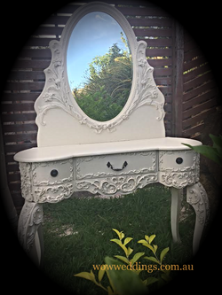 french provincialornate dressing table